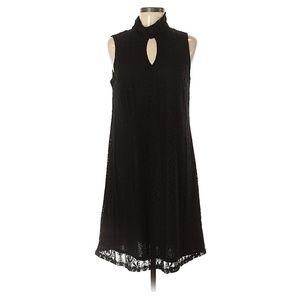 3/$35 Libby Edelman Little Black Lace Dress Size M
